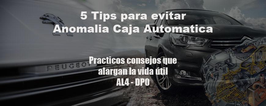 5 Tips para evitar ANOMALIA CAJA AUTOMATICA