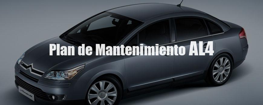 Plan de mantenimiento de Cajas Automaticas Peugeot y Citroen AL4