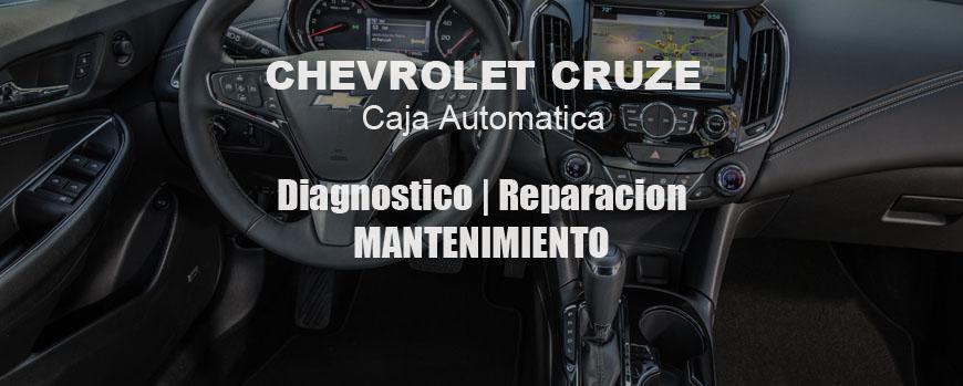 TODO sobre Caja automatica de Chevrolet Cruze 6T30 6T40 6T45